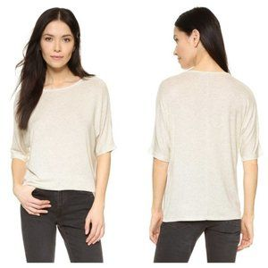 Vince Luxe Slouchy Dolman Tee